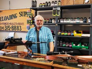 Marvin Mann at Acme Reloading Supply and Used Guns