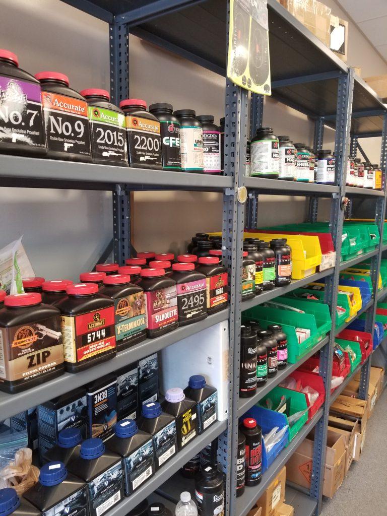 Acme has plenty of reloading powder